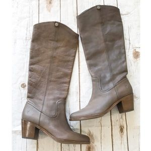 FRYE • tall leather boots